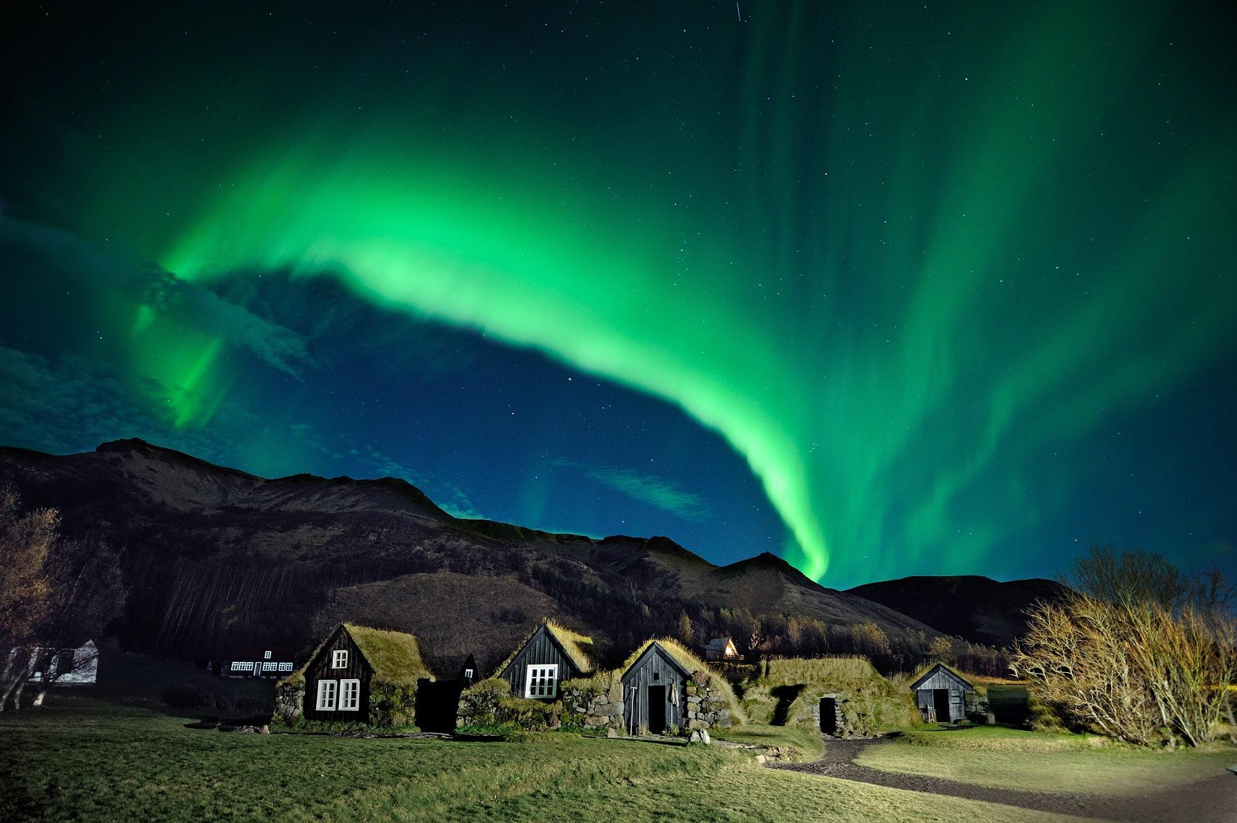 Aurora Skogar Museum credit THORIR Iceland IPT 2