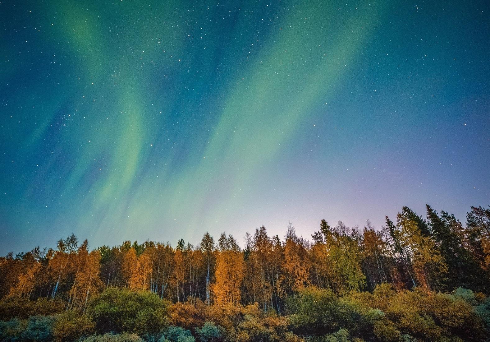 Autumn auroras 2019 3 credit Antti Pietikainen