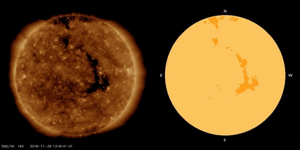 Coronal Hole diagram 29th novemeberv3