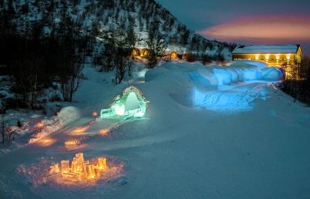 Credit Kirkenes snow hotel