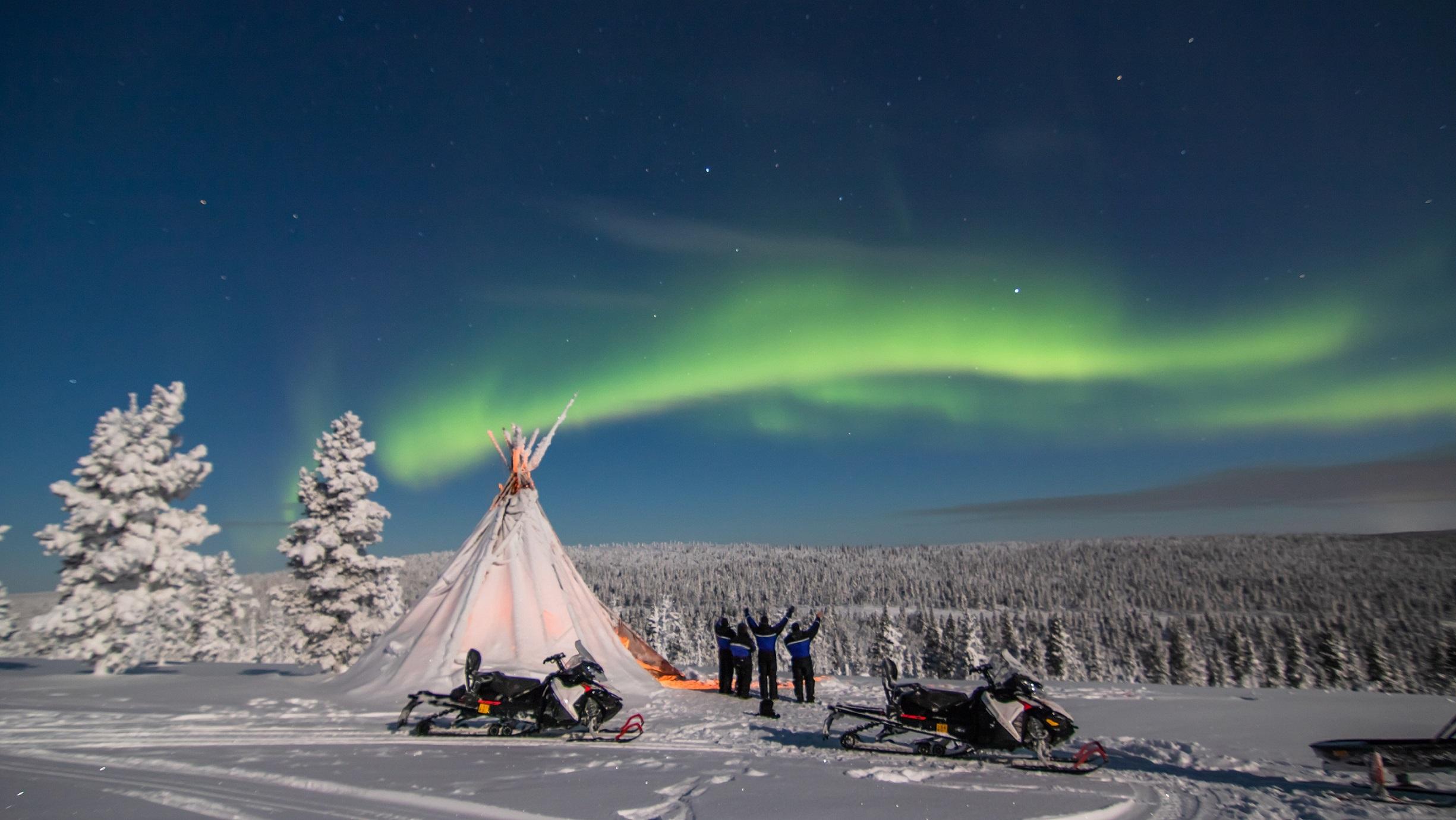 Credit Northern Lights Village Saariselka 2