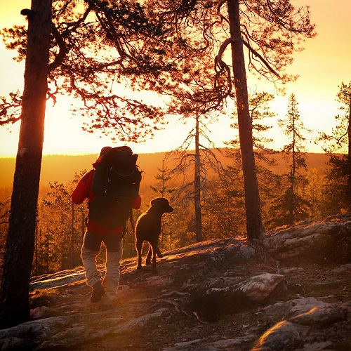 Hiking Credit Harri Tarvainen and Visit Finland