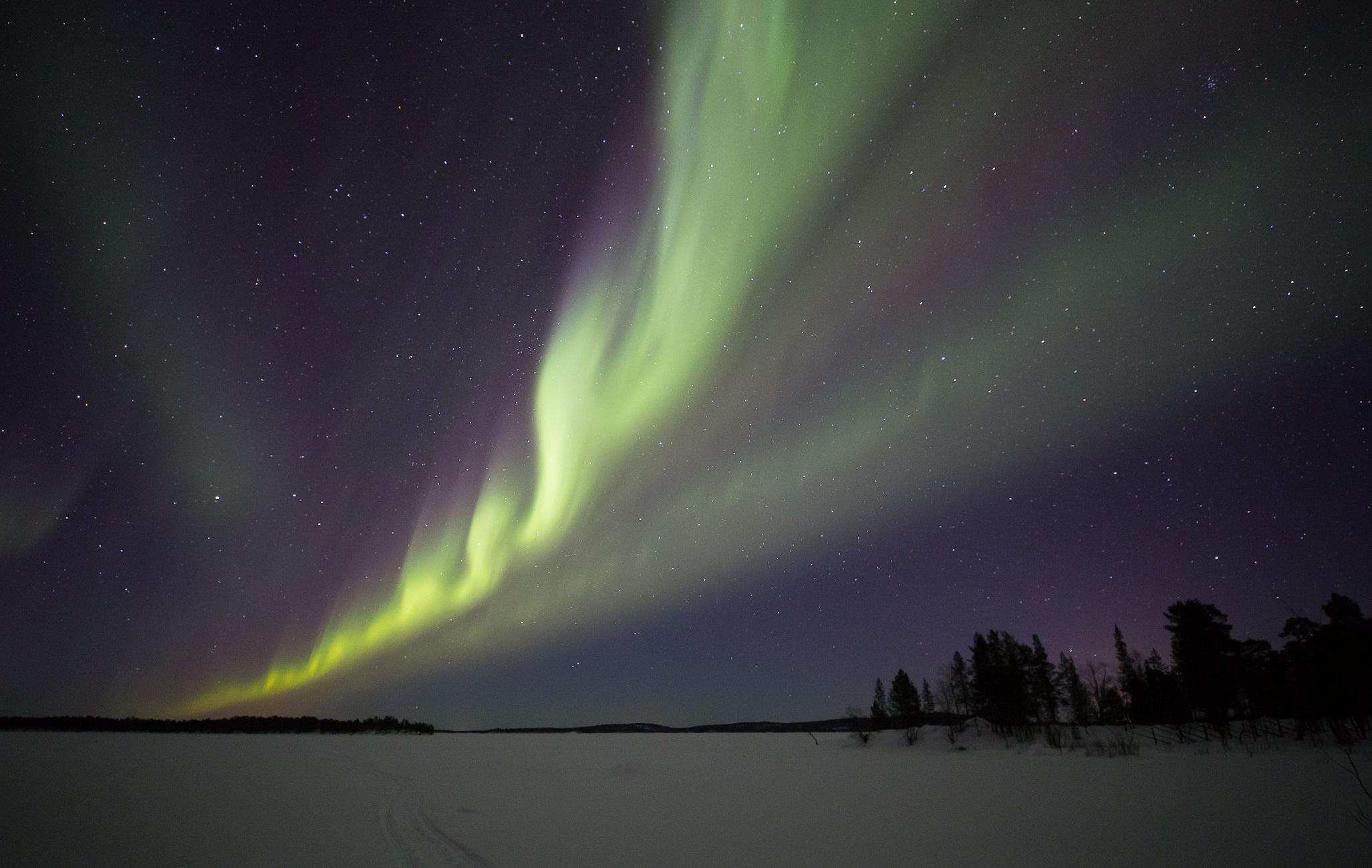 Korpikartano aurora 7.3.2019 a
