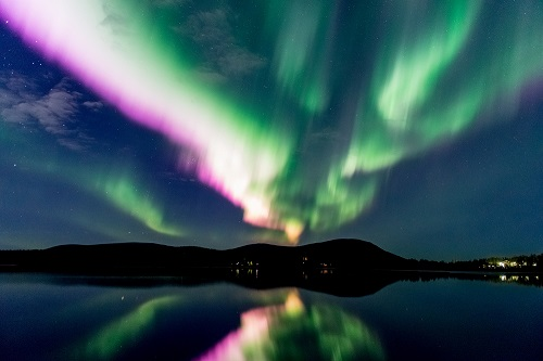 Northern Lights in autumn generic Credit Markus Kiili and Visit Finland
