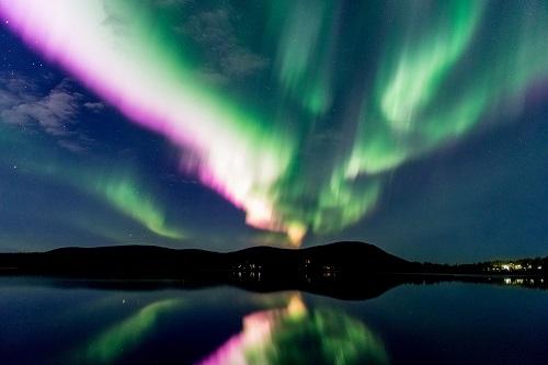 Northern Lights in autumn generic Credit Markus Kiili and Visit Finland