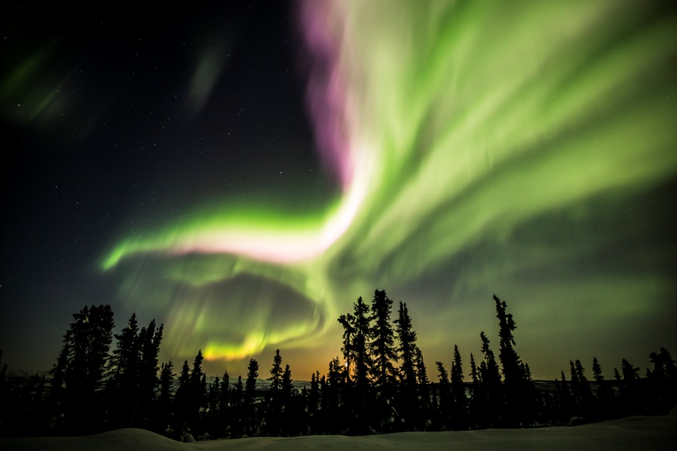 Aurora Borealis by Arctic Range Adventure