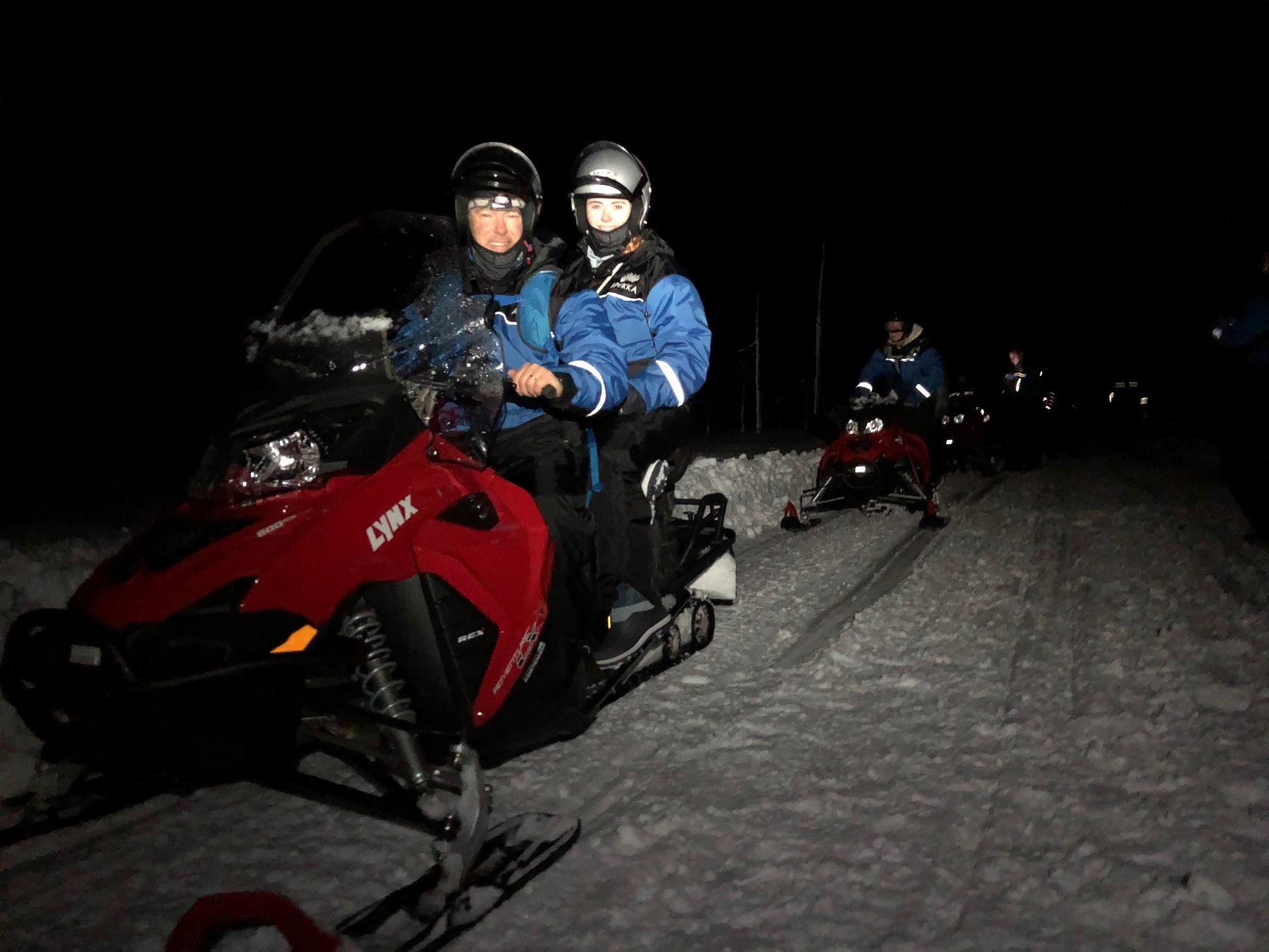 Rovaniemi Aurora Adventure at Apukka client images Credit Gavin Duffy 11