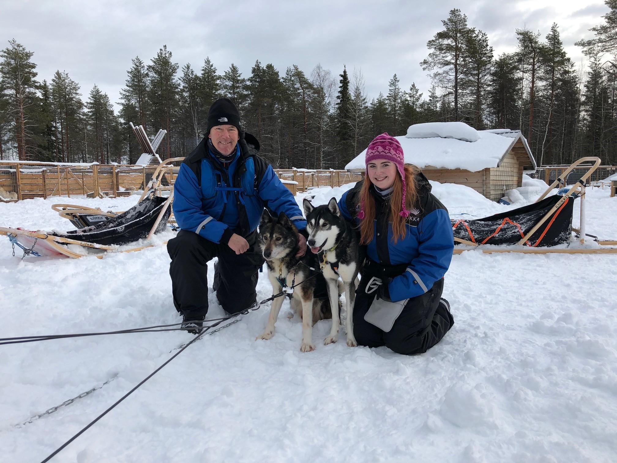 Rovaniemi Aurora Adventure at Apukka client images Credit Gavin Duffy 2