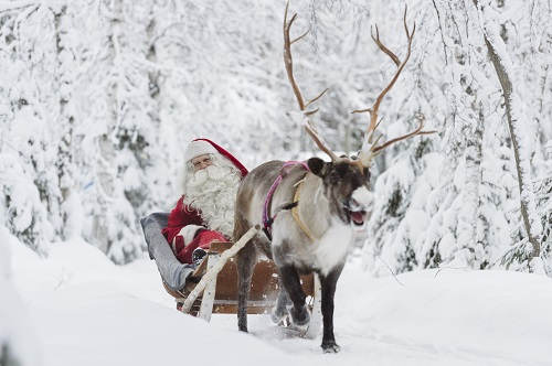 Santa Reindeer 2 Credit Visit Rovaniemi Rovaniemi Tourism Marketing Ltd