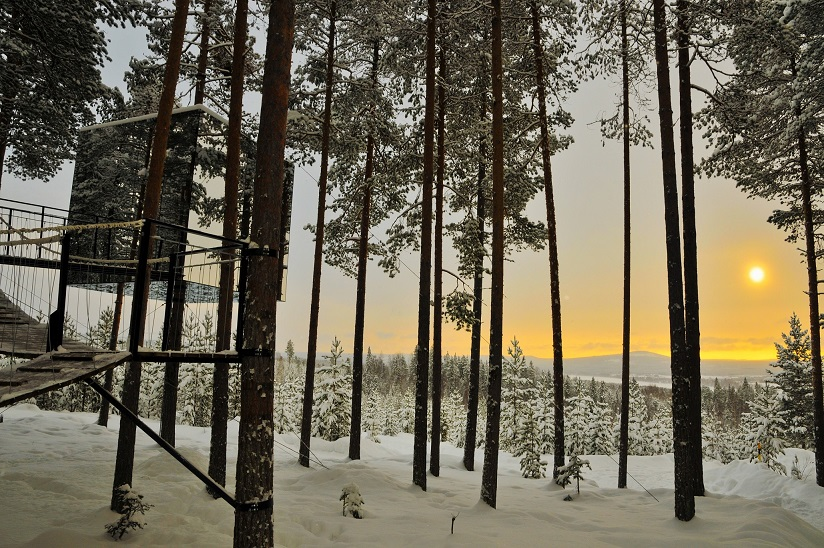 The Cube Credit Lola Akinmade Akerström and Treehotel 2