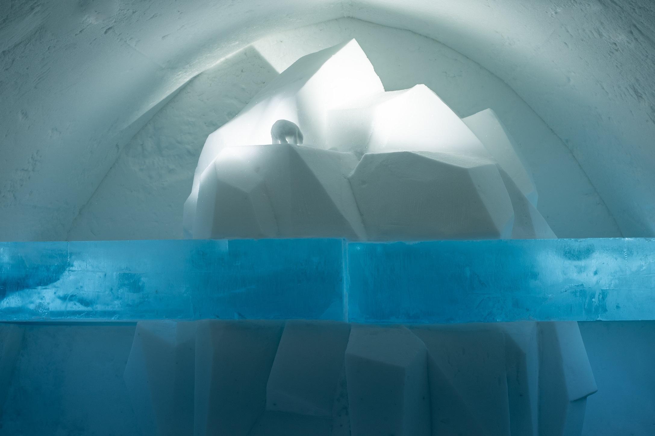 Tip of the Iceberg Credit Franziska Agrawal Asaf Kliger Icehotel