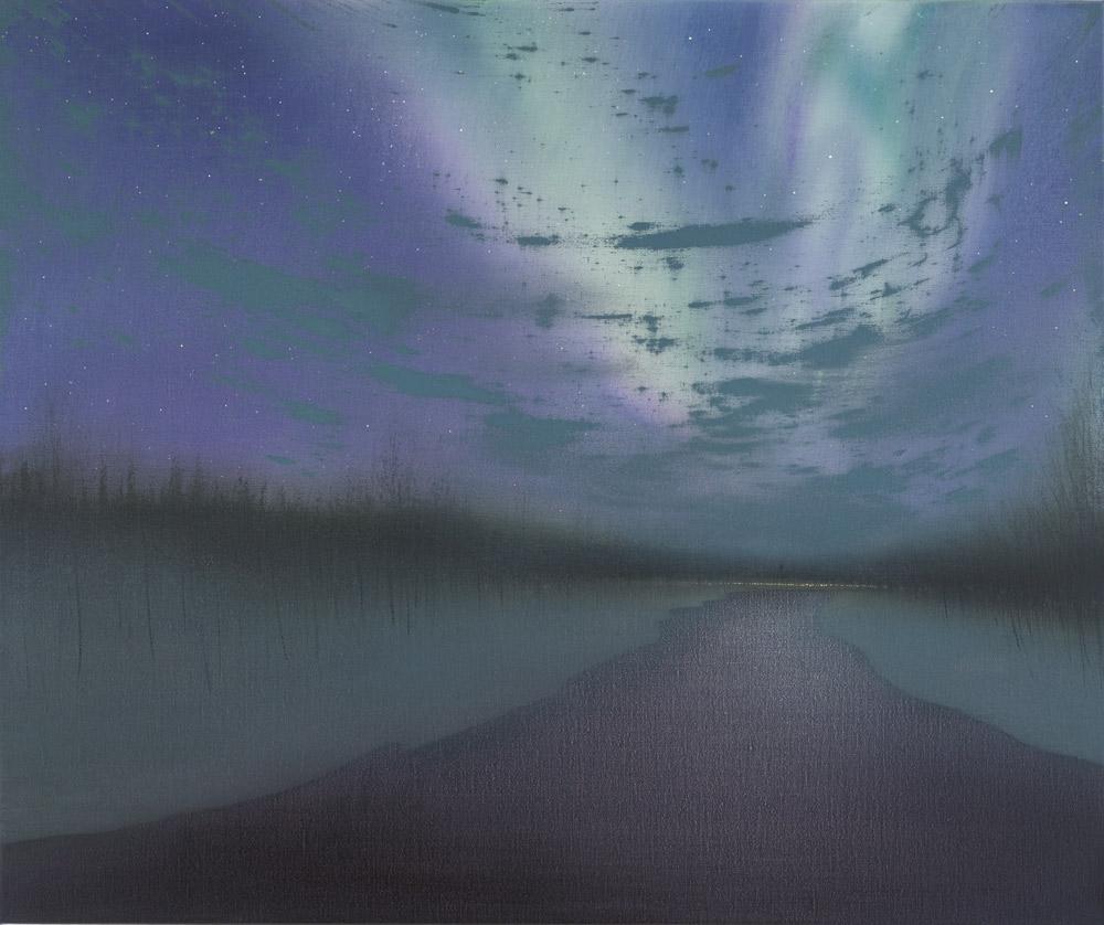 Wilderness Aurora and Cloud