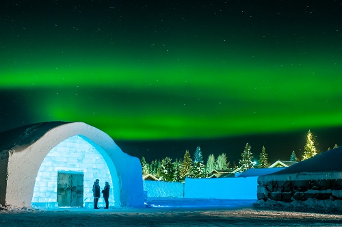 medium icehotel northern lights asaf kliger and icehotel