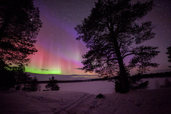Antti Pietikianen's photo of the aurora
