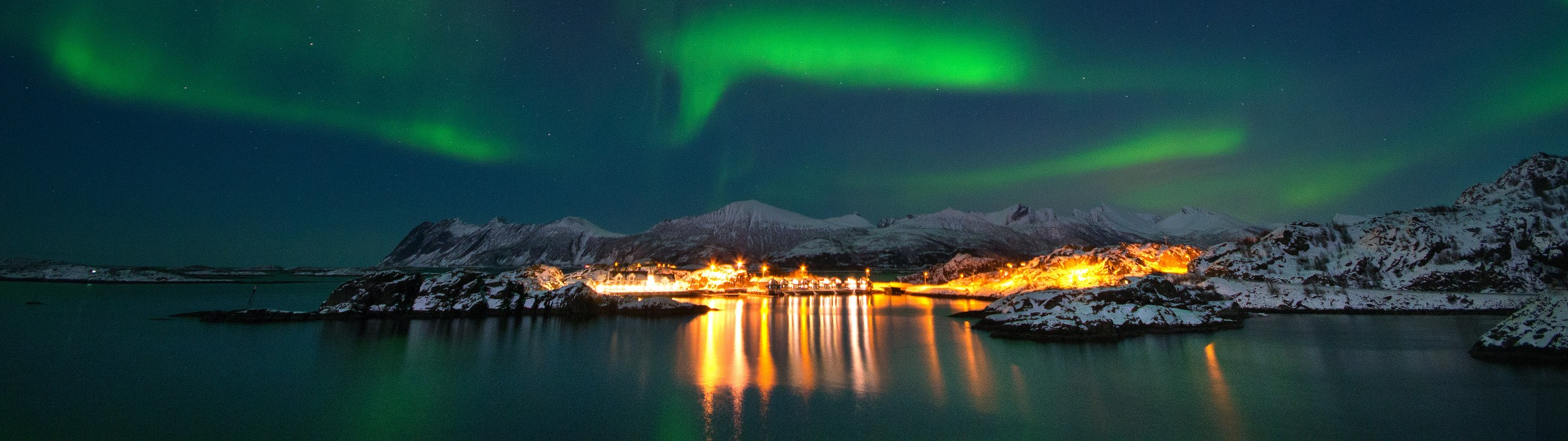 Northern Lights, Senja, Norway Credit Hamn i Senja
