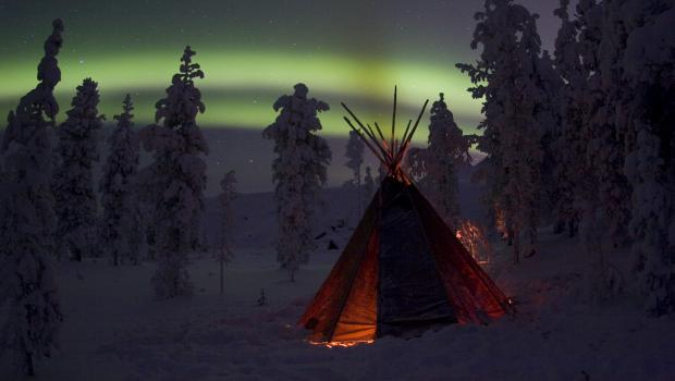 Inari - Aurora in the Sámi Heartlands