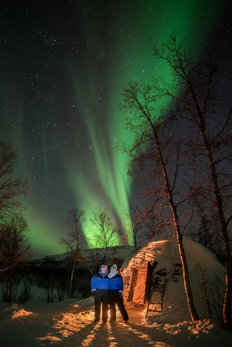Tailor Made Aurora Borealis Holiday In Abisko Sweden