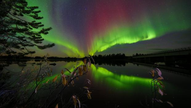 Nellim - Autumn Lights over Lake Inari