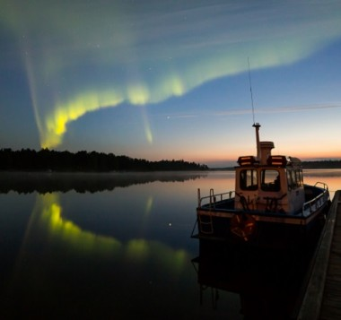 Search for the Northern Lights in autumn